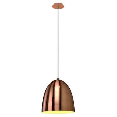 Balam 1-Light Mini Pendant Finish: Copper Brushed