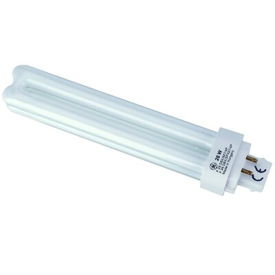 G24q-1 Compact Fluorescent Light Bulb Wattage: 26W