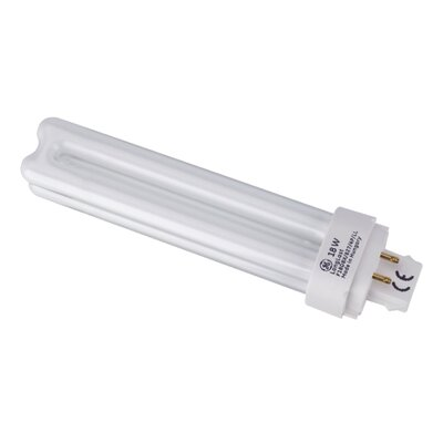 G24q-1 Compact Fluorescent Light Bulb Wattage: 18W
