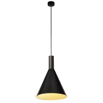 Phelia 1-Light Mini Pendant Size: 16.54 H x 11.2 W x 11.2 D