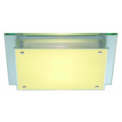 Glassa Square 1-Light LED Flush Mount