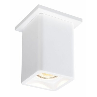 Rhymes 1-Light LED Square Shade Flush Mount