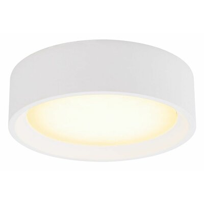 Rhymes Modern 1-Light LED Flush Mount