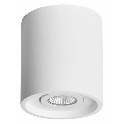 Rhymes Modern Round 1-Light LED Flush Mount