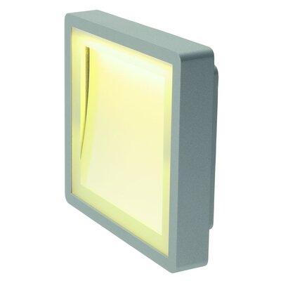 Indigla 1-Light LED Flush Mount Finish: Silver Grey