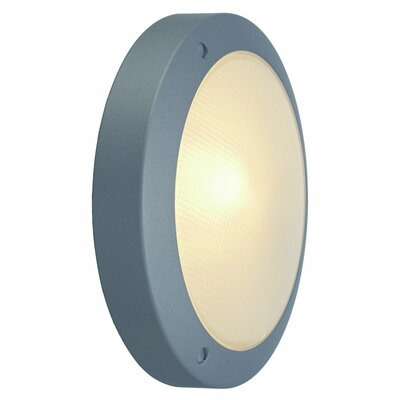 Bulan 1-Light LED Flush Mount Finish: Silver Grey