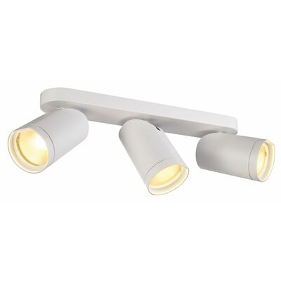 Bilas Spot Triple 3-Light LED Spotlight Finish: White