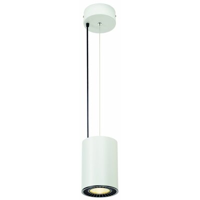 Richarson 1-Light LED Mini Pendant Finish: White