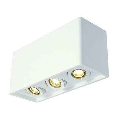 Rhymes Box 1-Light LED Flush Mount
