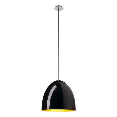 Balam 1-Light LED Metal Shade Mini Pendant Size: 14.57 H x 15.75 W x 15.75 D