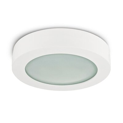 Rhymes Contemporary 1-Light LED Flush Mount