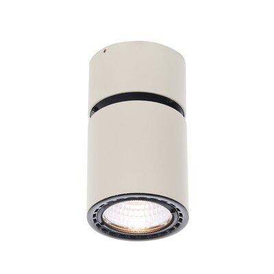Richarson 1-Light LED Flush Mount Fixture Finish: White