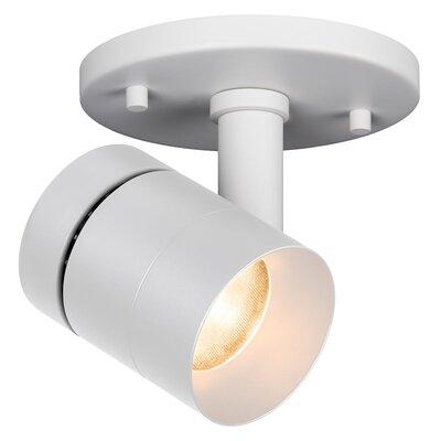 Vickery Modern & Contemporary 1-Light LED Directional & Spotlight Fixture Finish: White
