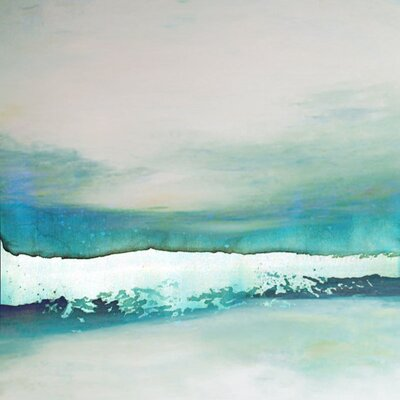 Wave Study' by AX Painting on Wrapped Canvas