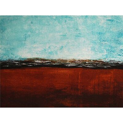 'Distant Shores' by AX Original Painting on Wrapped Canvas Size: 24