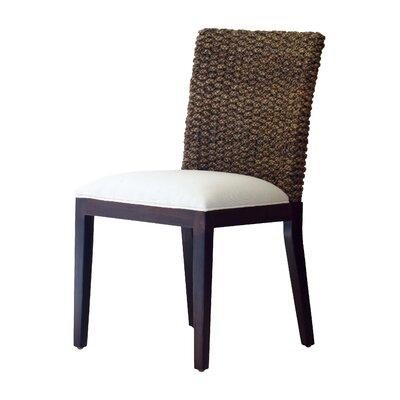 Panama Jack Sunroom Sanibel Side Chair with Cushion - Color: Canvas Black at Sears.com