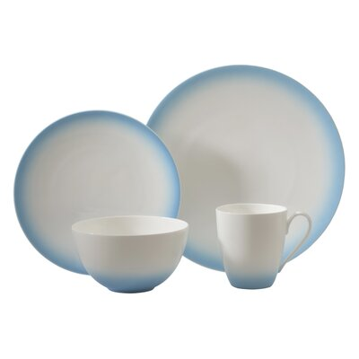 Aladdin 4 Piece Place Setting Color: Blue