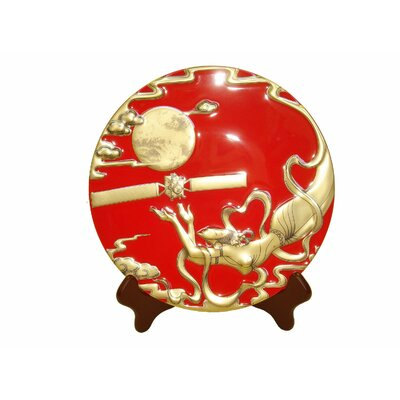 Chinese Legend Of Changer The Moon Goddess Showplate Color: Red