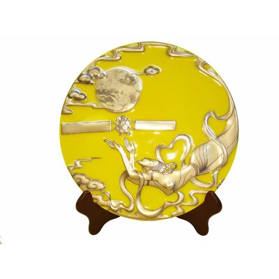 Chinese Legend Of Changer The Moon Goddess Showplate Color: Yellow