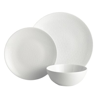 Nomad 3 Piece Place Setting Color: White