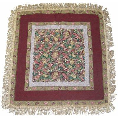 Christmas Fiesta Woven Tablecloth