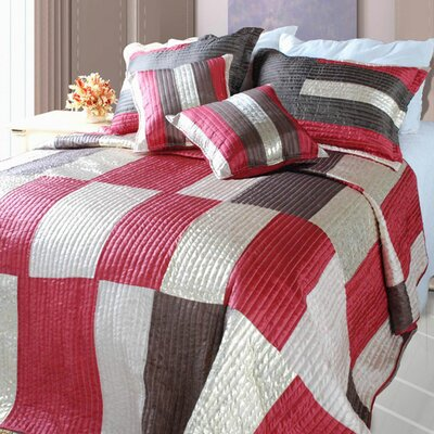 Modern Block Quilt Set Size: King