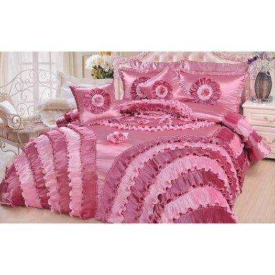 Rose California King Comforter Set
