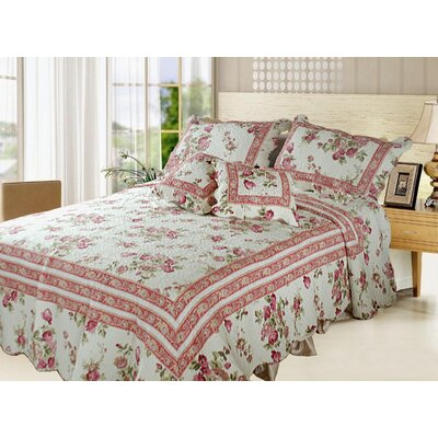 French Country Quilt Set Size: Queen