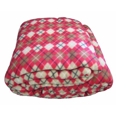 Checkered Polar Blanket Size: Queen