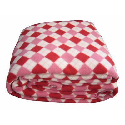 Checkered Polar Blanket Size: Twin
