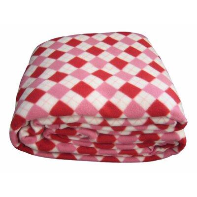 Checkered Polar Blanket Size: Queen