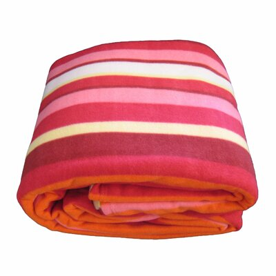 Striped Blanket Size: Queen
