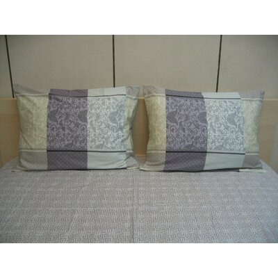 Paisley 200 Thread Count Cotton Fitted Sheet Set Size: Queen