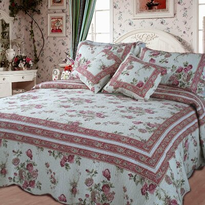 French Country Quilt Set Size: King