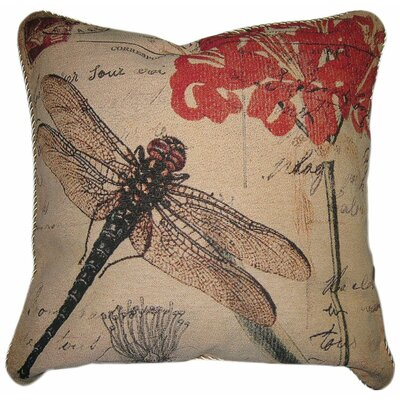 Dragonfly Dream Cotton Cushion Cover