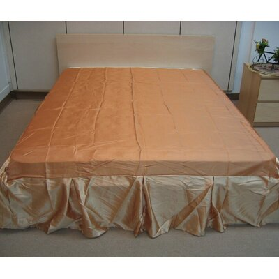Golden Bed Skirt Size: King
