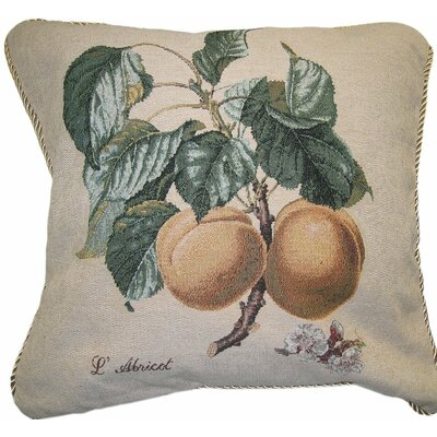 Apricot Cotton Cushion Cover