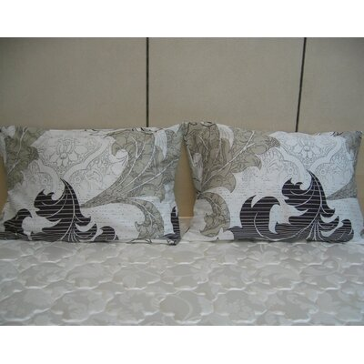 Real Leaves Cotton Pillow Cover