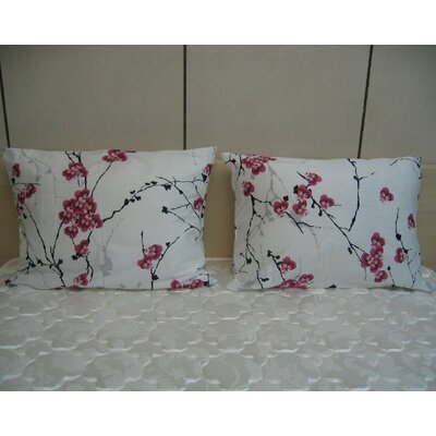 Floral Cotton Pillow Cover