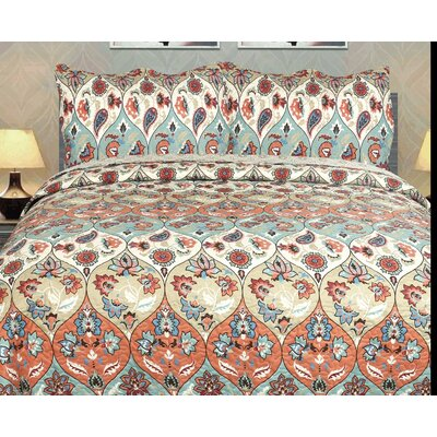 3 Piece Quilt Set Size: Full
