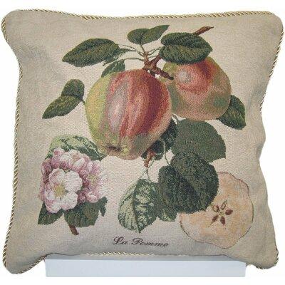 Splendor of Apple Woven Decorative Pillow Cover