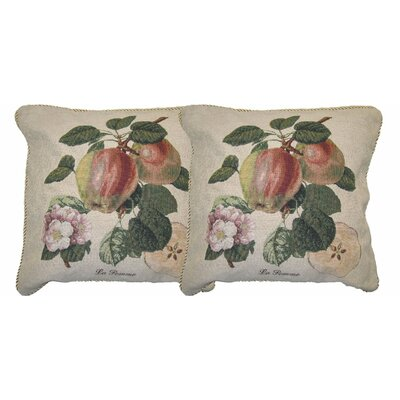 Splendor of Apple Woven Decorative Pillow Cover