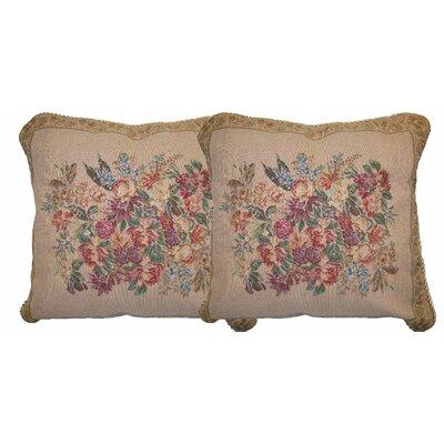 Wildflower Wonderland Woven Pillow Cover