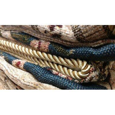 Elegant Chenille Quilt Set Size: Queen, Color: Blue