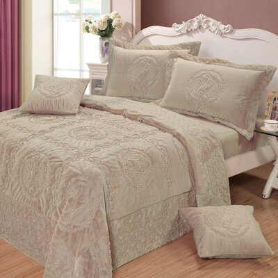 Comfy Paisley 3 Piece Twin Quilt Set