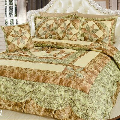 Runway 5 Piece Queen Comforter Set