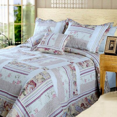 Blossoming Quilt Set Size: King
