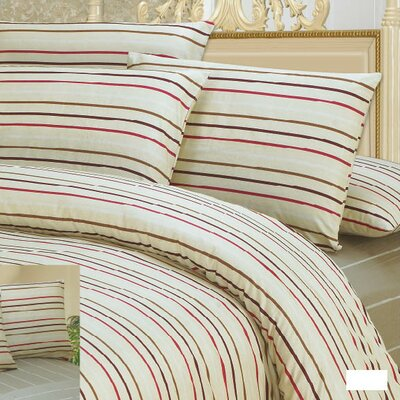Striped Duvet Cover Set Size: Twin