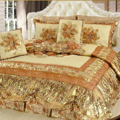 Midas Quilt Set Size: California King
