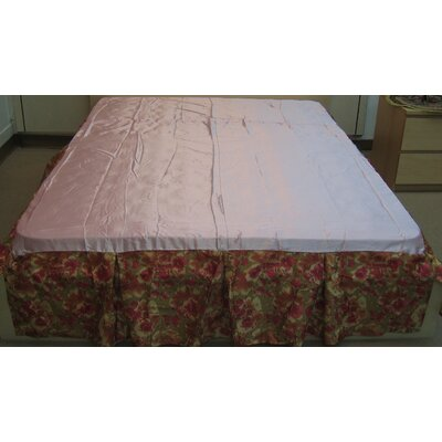 Sunset Rubies Bed Skirt Size: King